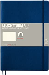 LEUCHTTURM1917 灯塔B5无格创作本藏蓝色软封皮(B5)