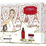 L'Oréal Paris 巴黎欧莱雅 玻尿酸复颜精华+复颜日霜,保湿抗皱,紧致肌肤,礼品装,1x 576g