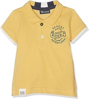 Brums 男婴 Polo 衫 Piquet Collo Rigato 衬衫