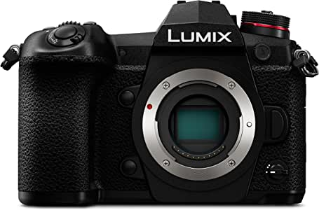 PANASONIC LUMIX G9 4K Digital Camera, 20.3 Megapixel Mirrorless Camera plus 80 Megapixel High-Resolution Mode, 5-Axis Dual I.S. 2.0, 3-Inch LCD, DC-G9 (Black)