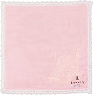 LANVIN en Bleu 女士 3层纱布手帕