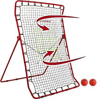 Rukket Pitch Back 棒球/垒球回弹器 PRO 投球练习伙伴 - 可调节角度回投训练器