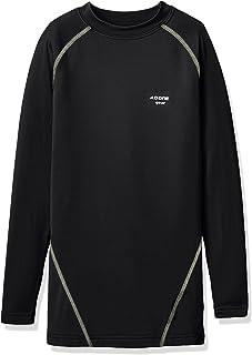 A.D.ONE 压缩衣 青少年 发热保暖 压缩衣 热内衣 长袖衬衫 圆领 儿童 ADCJ-19 [平行进口商品]