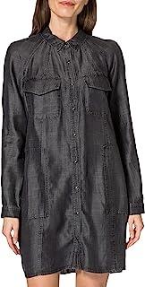 Superdry 极度干燥女士天丝超大衬衫连衣裙