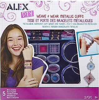 Alex DIY 编织和戴金属袖口