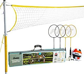 Franklin Sports 家庭排球羽毛球组合套装