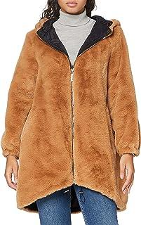 Trussardi Jeans 女士派克大衣双面连帽软质 E 连帽外套