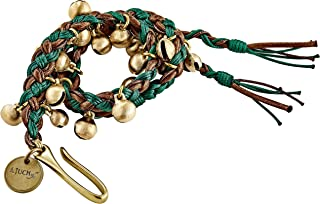 Meinl Percussion Ajuch 黄铜铃铛,小尺寸适合高音段 — 手绑绳 — 可放在任何嘻哈或镲片支架上,可发出轻微叮当声,包括帆布袋,2 年保修,MABS