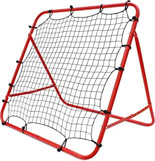 Rakon 棒球和垒球反弹器 Net72x48 英寸棒球垒球网球橄榄球反弹网训练设备
