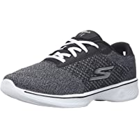 Skechers PERFORMANCE 女式 GO WALK 4 EXCEED 系带运动鞋