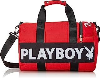 Playboy 罗纹包 波士顿包 Med量版 2WAY 运动包 PL-MR01