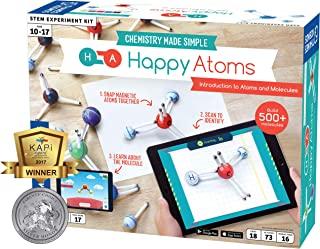 Thames & Kosmos Happy Atoms 磁分子建模套装 120 months to 204 months 介绍套装 17 Atoms