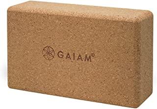 Gaiam 软木瑜伽砖