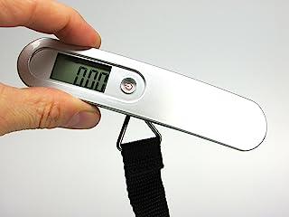 带液晶显示屏的数字行李箱秤 - 旅行时*适合准确的行李重量 - 再也不带超重包袋 - 终身满意*