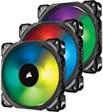 Corsair 海盗船优质磁悬浮风扇 RGB 照明CO-9050076-WW 三件装,照明节点 PRO 120mm