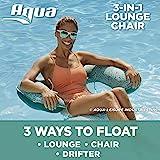 AQUA 马赛克 3 合 1 泳池椅休息室,可充气泳池浮动,多功能泳池椅(躺椅,漂移,椅子),*马赛克
