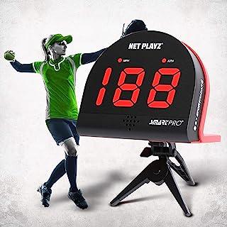 NetPlayz 垒球雷达、速度传感器训练设备(免提雷达枪、投掷速度枪 | 垒球礼品、高科技小工具和垒球运动员装备