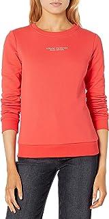AX Armani Exchange 女式图标标志套头运动衫