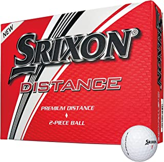 Srixon Distance 高尔夫球,软白色,2个装