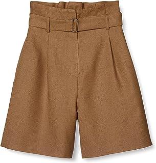 N. Natural Beauty Basic短裤 高腰褶裙 女式