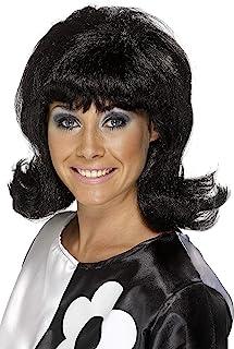 Smiffy's 女式 60 年代闪耀假发短裤