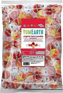 YumEarth Organic 水果硬糖,各种口味,5磅,1928克-适合敏感人群,Non GMO,无麸质,素食主义者(包装可能有所不同)