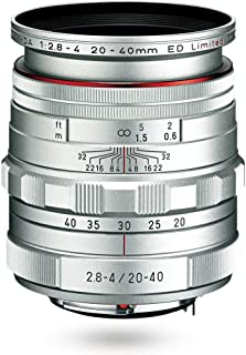 PENTAX 限量镜头标准变焦镜头 HD PENTAX-DA20-40mm F2.8-4ED 限量直流 WR 银(日本进口-无保修)