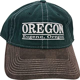 比赛 NCAA 俄勒冈大学鸭队可调节帽子