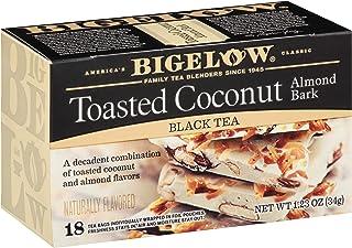 Bigelow Tea 烤椰子杏仁皮,红茶,18支 34克