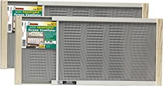 Frost King 2AWS1207 WB Marvin 可调节窗户屏幕,自然色