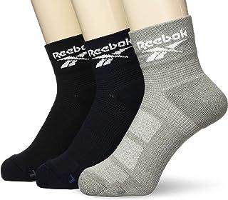 GUNZE 郡是 短袜 Reebok 脚尖 足底毛绒 短款 3双装 男士 REM002