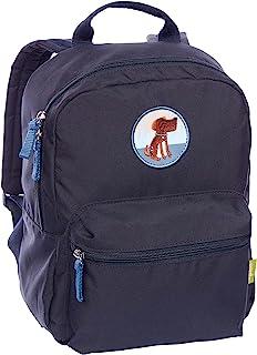SIGIKID 女童和男孩,儿童背包狗由再生聚酯纤维450D,*系列,建议3 – 7岁,蓝色,25140