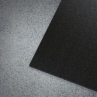 WorkForce 乙烯基波纹纹理商业级跑步者哑光卷,0.32 cm x 7.16 cm x 3.54 cm,黑色