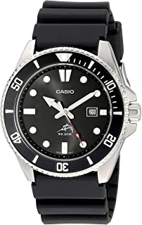 Casio 卡西欧 MDV106-1AV 200M Duro 男士手表,黑色