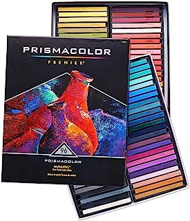 Prismacolor 27055 Premier NuPastel 柔和的彩色蜡笔套装,96支,多色