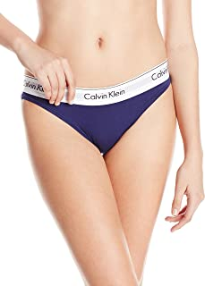 Calvin Klein Underwear 女士时尚棉制比基尼内裤