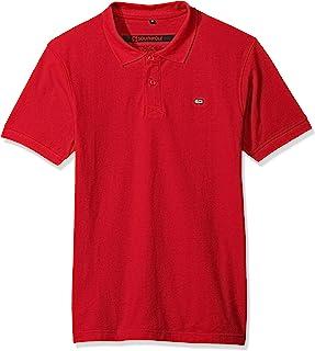 Southpole 男式经典短袖纯色 Polo 衫