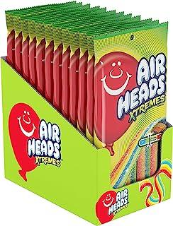 Airheads 彩虹条状酸浆果糖,散装派对包,4.5盎司(127.6g),12包