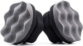 Glearo 轮胎敷料涂抹器 轮胎光泽涂抹器 - 完美轮胎细节,耐用和可重复使用的泡沫,大号六角形握把设计,防滑不脏乱,易于使用 G-2060-3