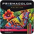 Prismacolor Premier 彩色铅笔,软芯,72支装