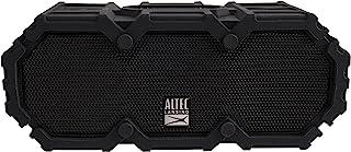 Altec Lansing IMW577-BLK Lifejacket 2 蓝牙音箱,IP67 防水,防震,防雪,一切防护等级,30 英尺范围,16 小时电池寿命,黑色