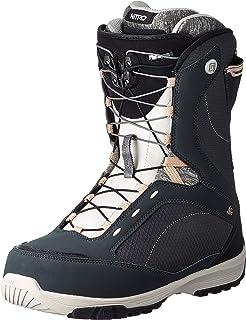 Nitro Monarch TLS '20 女士单板滑雪靴,全地域,自由式滑雪,快速系带系统