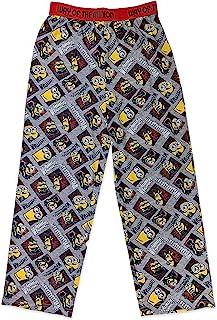 《神偷奶爸》小黄人男孩睡裤长裤男童睡衣,* 涤纶,幼童男孩尺码 3T 至小童尺码 8