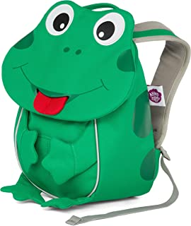 Affenzahn 幼儿园儿童背包适合男女学龄前儿童,适合 1-5 岁儿童 Finn Frog 1-3 years old - Small Friends