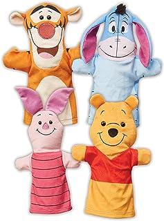 Melissa & Doug 小熊维尼 柔软可爱的手偶毛绒玩具