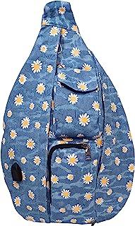 NuPouch 背包 Light Blue Daisy Rucksack