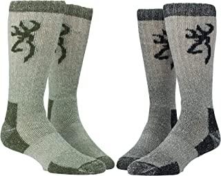 Browning Poplar Sock, 2 Pairs of Wool-Blend Boot Socks