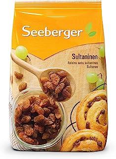 Seeberger 无糖葡萄干,8件装(8 x 500g袋)
