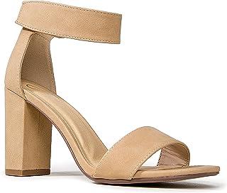 系带粗跟高跟鞋 - 正式,婚礼,派对简约经典高跟鞋 - Shirley by J.Adams
