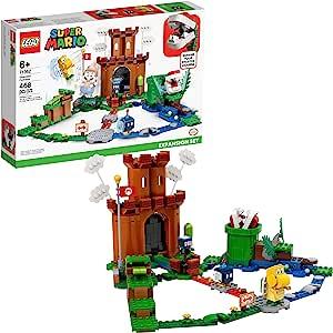 LEGO *马里奥护卫要塞扩展套装 71362 积木套装;可收藏的玩具组合,与马里奥初学者课程(71360)组合,新款 2020(468 件)